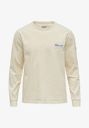 Langærmede T-shirts - bone white