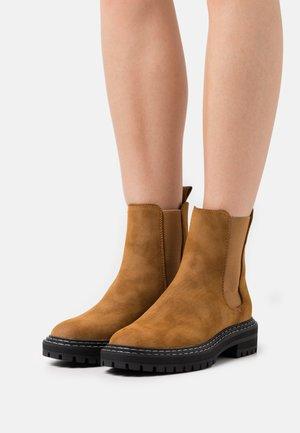 ONLBETH BOOT  - Classic ankle boots - cognac