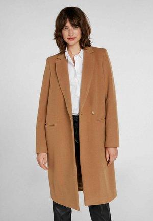 Classic coat - toasted coconut