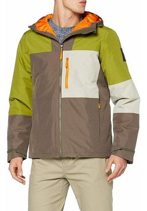 Outdoor jacket - multi-coloured