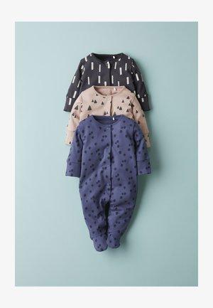 3 PACK MULTI PRINT  - Sleep suit - multi-coloured