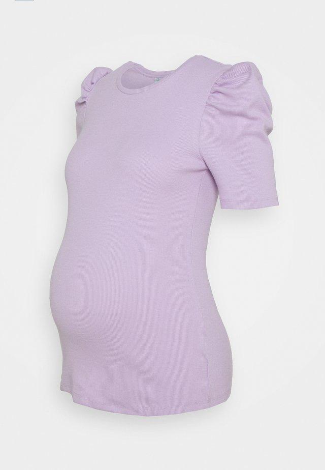 PCMANNA - T-shirt basic - purple