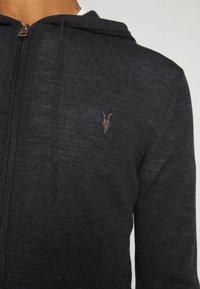 AllSaints - ZIP HOODY - Cardigan - shadow grey marl - 5