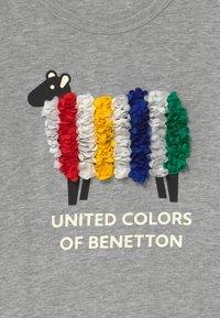 Benetton - FUNZIONE GIRL - Top sdlouhým rukávem - grey - 2