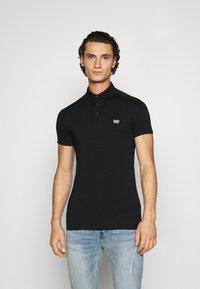 Antony Morato - PLATE ON FRONT - Polo shirt - black - 0