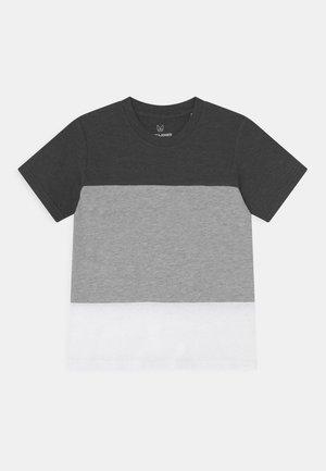 JCOPOKE TEE CREW NECK JR - Print T-shirt - dark grey melange