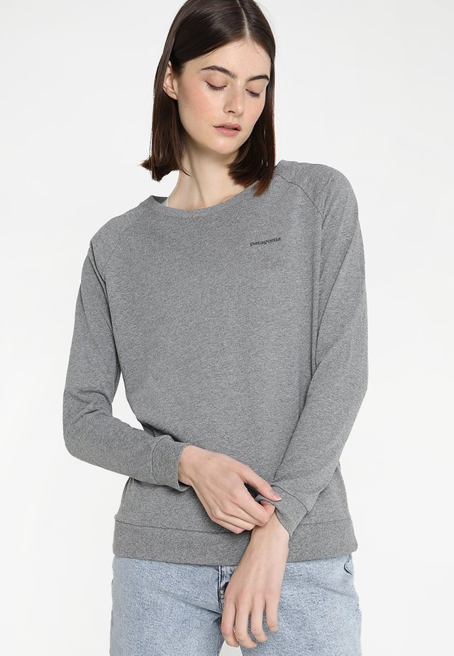 LOGO RESPONSIBILI TEE - Camiseta de manga larga - gravel heather