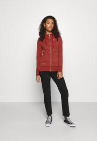 Ragwear - PAYA - Zip-up sweatshirt - red - 1