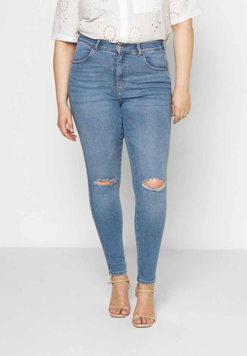 Dr.Denim Plus - LEXY - Jeans Skinny Fit - westcoast light blue