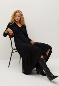 Mango - NOIR - Day dress - schwarz - 5