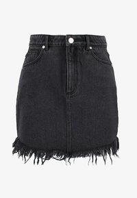 Abrand Jeans - A SKIRT - Jeansrok - graphite - 4