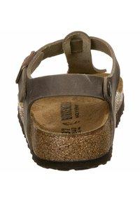 Birkenstock - T-bar sandals -  brown - 6