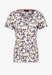 Taifun - Print T-shirt - offwhite gemustert - 2