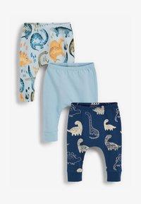 Next - 3 PACK  - Leggings - Trousers - blue - 0