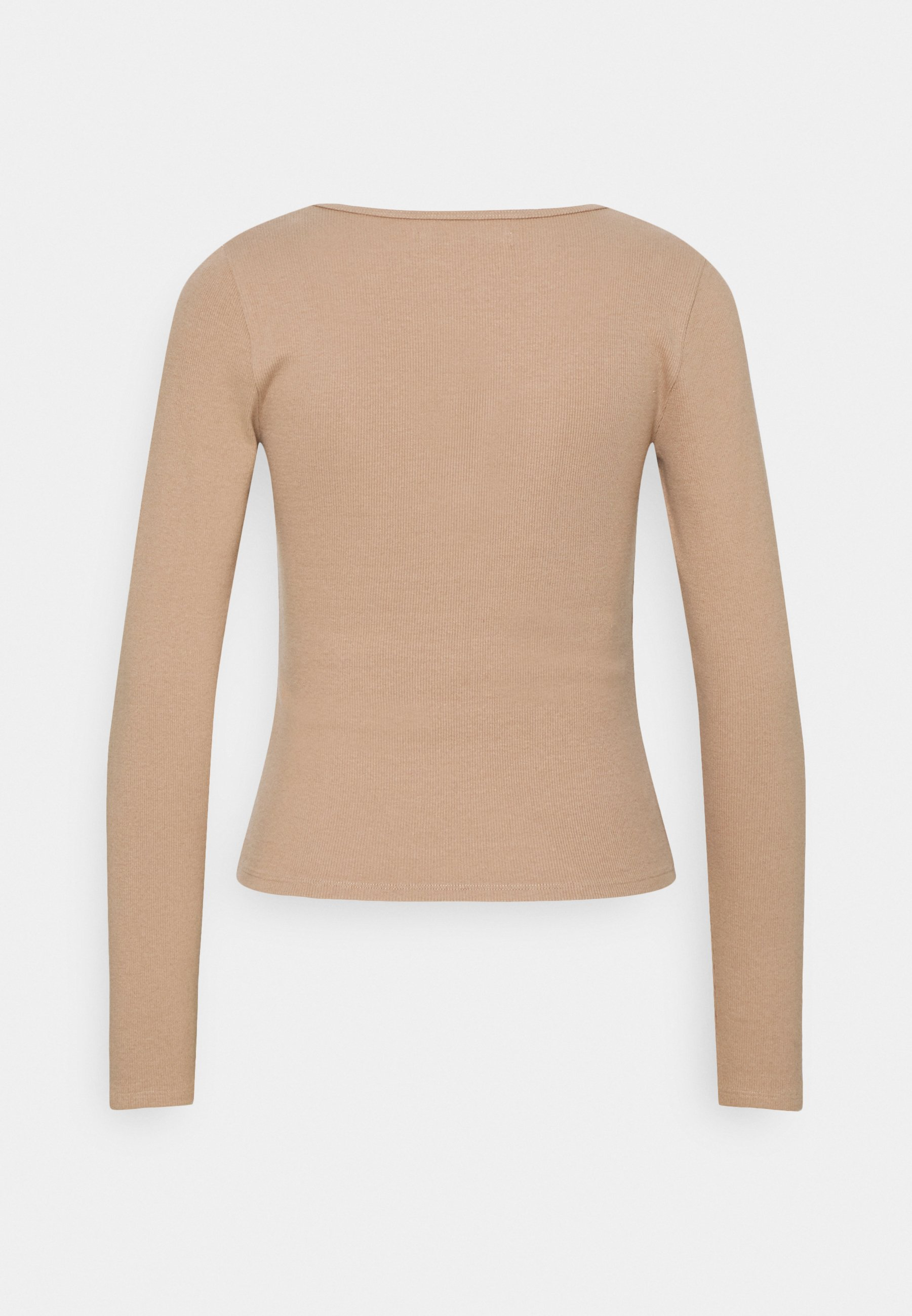 Women NOTCH NECK CHASE  - Long sleeved top