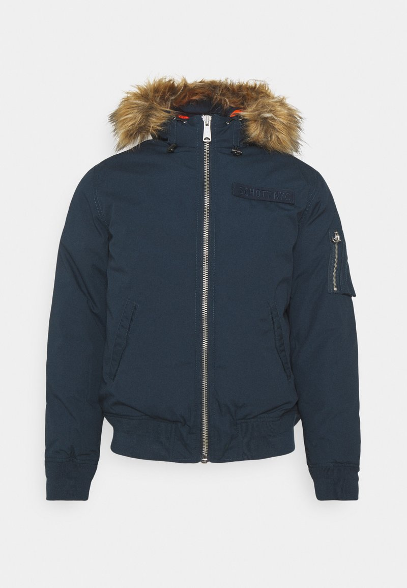 Schott - POWELL - Winter jacket - storm blue