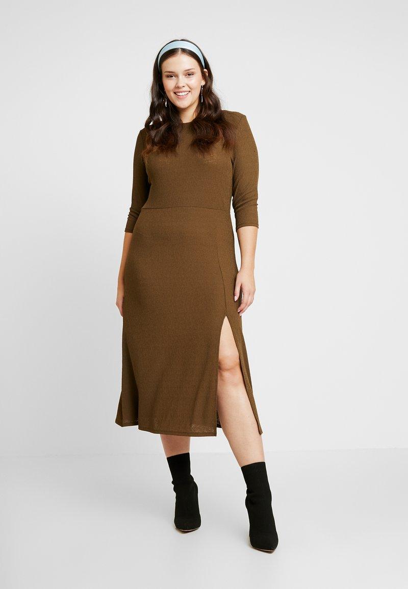 River Island Plus - Day dress - khaki