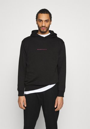 ESSENTIAL REGULAR HOODIE UNISEX - Luvtröja - black