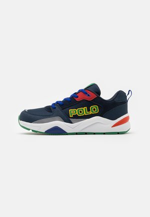 CHANING - Sneakers laag - navy/green/red/white