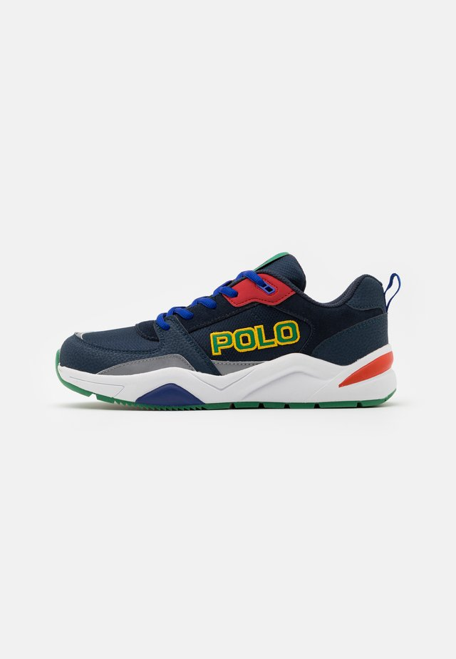 CHANING - Joggesko - navy/green/red/white
