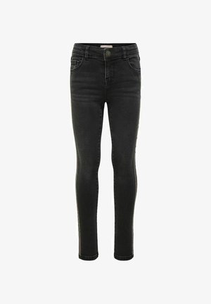 KONNAYA  - Jeans Skinny Fit - black denim