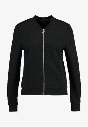 ONLMYNTHE JOYCE - veste en sweat zippée - black