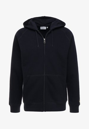 HOODED CHASE - Hættetrøjer - dark navy/gold
