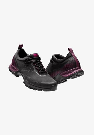 Hiking shoes - black - deep fiori