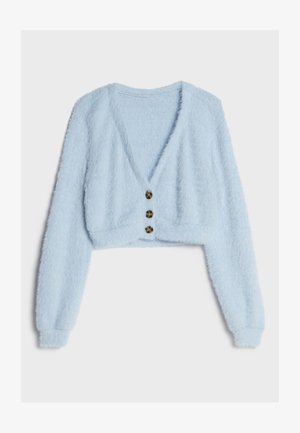 FUZZY - Cardigan - light blue