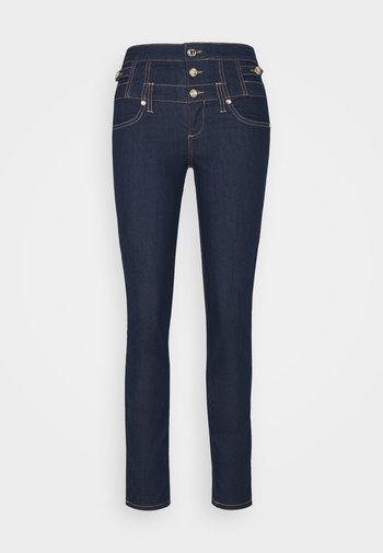 RAMPY - Slim fit jeans - dark-blue denim
