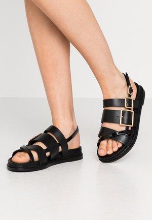JOY - Sandals - black