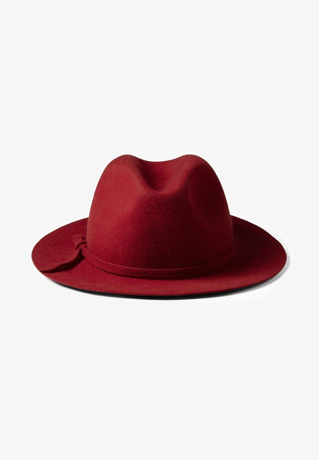 FEDORA - Hat - rot - rouge