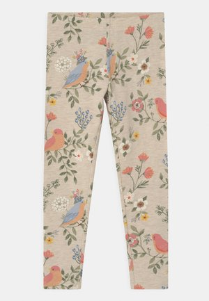 MINI - Leggings - Trousers - light beige melange