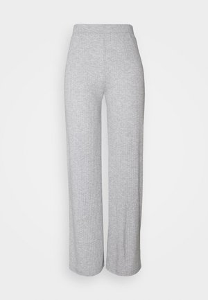 PANTS - Leggings - Trousers - light grey melange