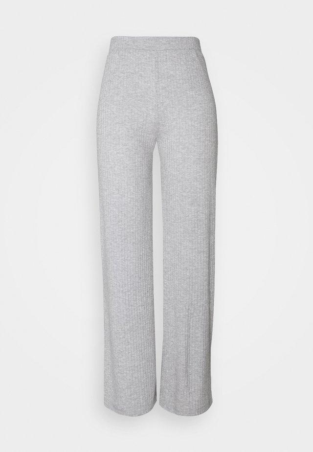 PANTS - Leggings - Hosen - light grey melange