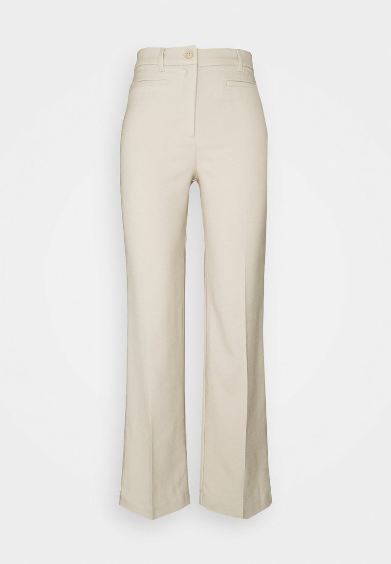 Monki - STACY TROUSERS - Tygbyxor - solid