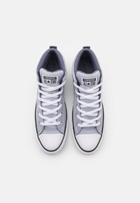 Converse - CHUCK TAYLOR ALL STAR STREET MID UNISEX - High-top trainers - gravel/ light carbon/white - 3