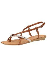 Scapa - SCAPA ZEHENSTEG - Sandals - brown - 3