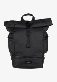 Sandqvist - VERNER ROLLTOP BACKPACK - Batoh - black - 1