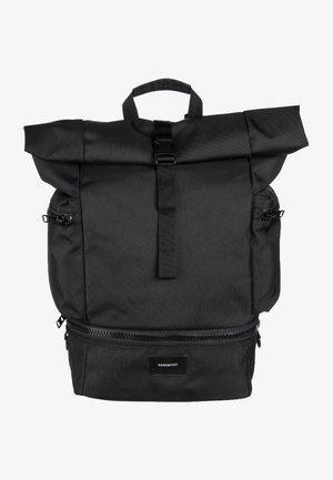 VERNER ROLLTOP BACKPACK - Zaino - black