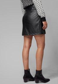 BOSS - BISARA - A-line skirt - black - 2