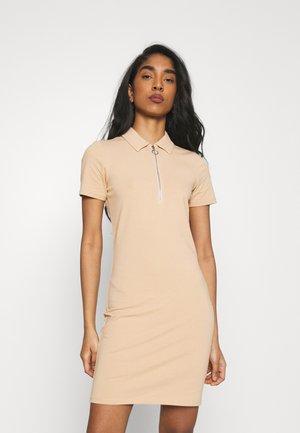 ONLEMMA DRESS - Jersey dress - ginger root