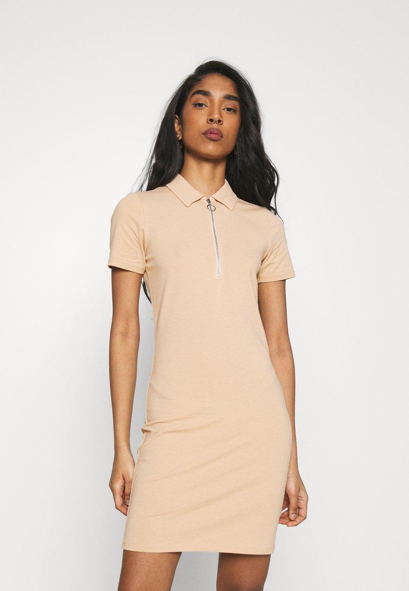 ONLY - ONLEMMA DRESS - Jersey dress - ginger root