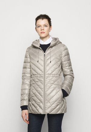 PEARL SHEEN - Down coat - cork