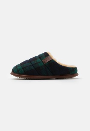 EMERY - Pantoffels - green/blackwatch