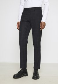 Isaac Dewhirst - WINDOWPANE SUIT - Suit - blue - 2