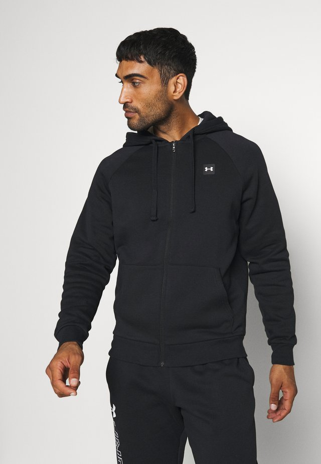 RIVAL HOODIE - veste en sweat zippée - black/onyx white