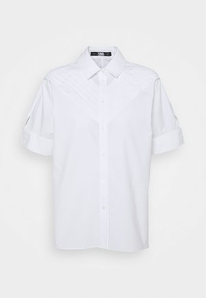PLEAT TUCK  - Košile - white