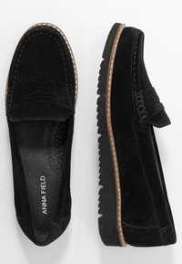 Anna Field - LEATHER - Slip-ons - black - 3