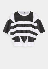 adidas Originals - LOGO TEE - T-shirt imprimé - white/black - 0